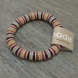 Eco Chic Button Bracelet