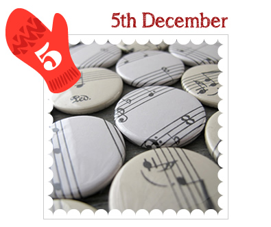 Advent Calendar 2014 - 5th December - Badges