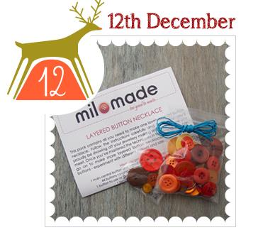 Do it yourself milomade advent calendar 2014 12th december diy jewellery kit solutioingenieria Images