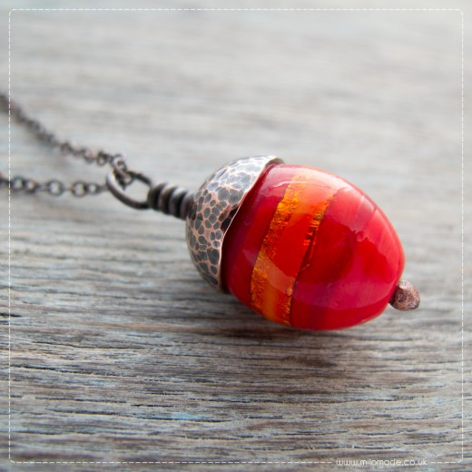 Gifts For Her - Woodland Collection - Acorn Pendant