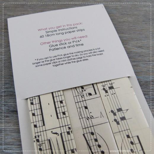 Advent Calendar - 18th December - DIY Decoration Packs - Paper Chains
