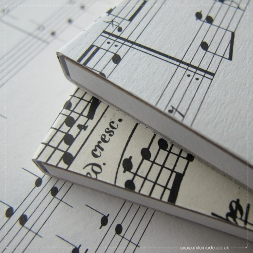 Gifts For Her - Music Eco Notepads