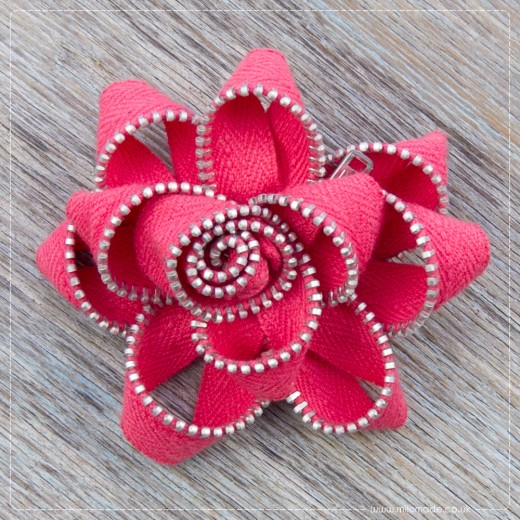 Gifts For Her - Zippy Flower Brooch
