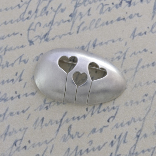 Enduring Love Collection - Heart Brooch