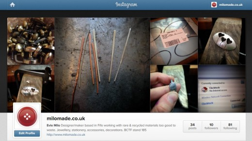 Milomade is now on Instagram!