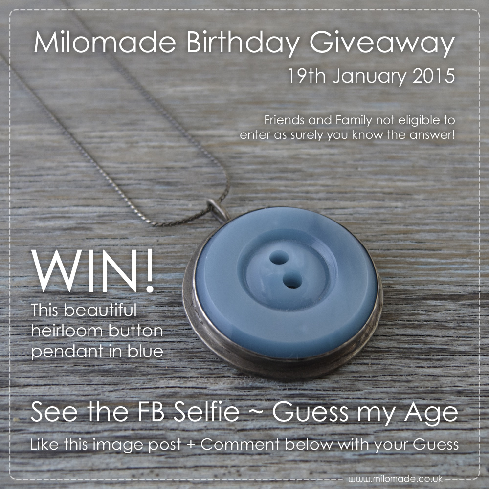 Milomade Birthday Giveaway