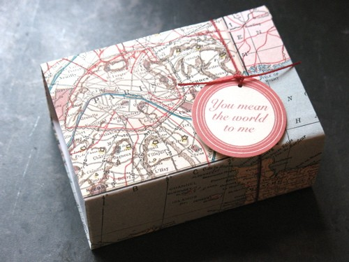 dsharp - vintage map box