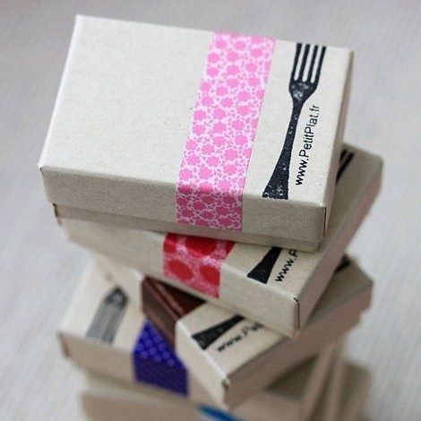 Washi Tape Boxes by Stéphanie Kilgast