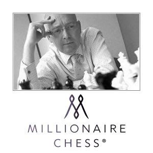 Duncan Glassey playing chess