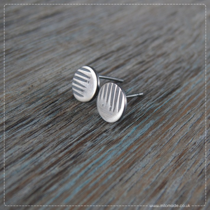 New Collection - Details - Stud Earrings - Lines