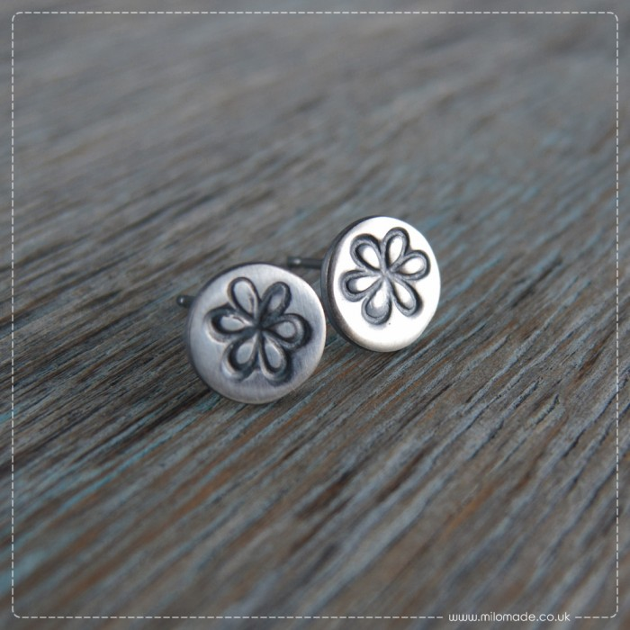 New Collection - Details - Stud Earrings - Whimsy Flowers