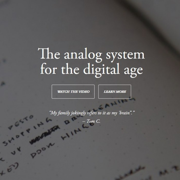 Bullet Journal - The Analogue System for the Digital Age