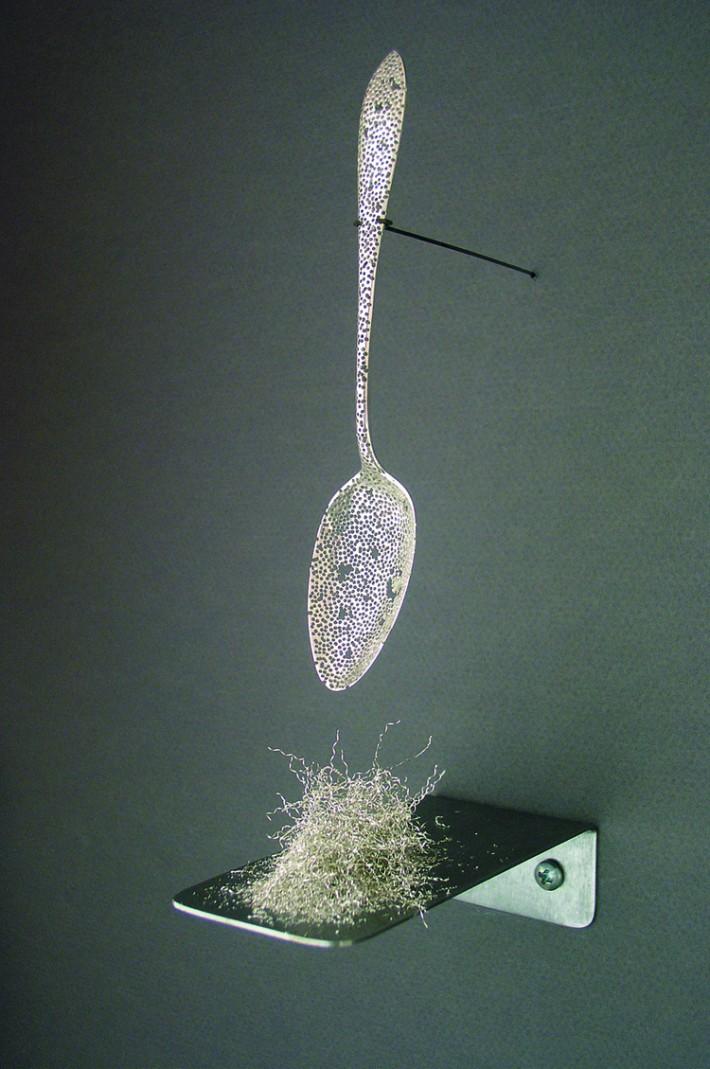 Haley Bates - Spoon Sculpture