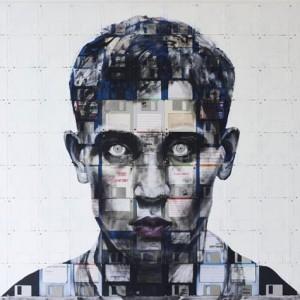 Nick Gentry - Floppy Disc Art