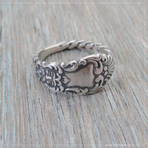 Milomade Antique Silverware Spoon Ring - Bodach