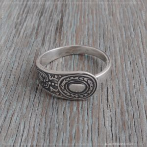 Milomade Antique Silverware Spoon Ring - Feis