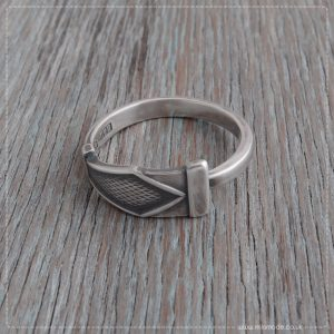 Milomade Antique Silverware Spoon Ring - Gaisce