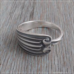 Milomade Antique Silverware Spoon Ring - Scéal