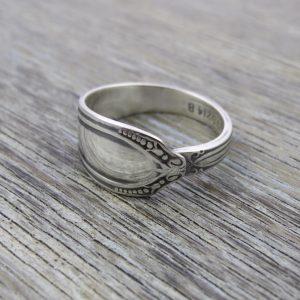 Milomade Antique Silverware Spoon Ring - Oilell