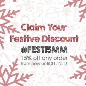 Festive Discount 2016