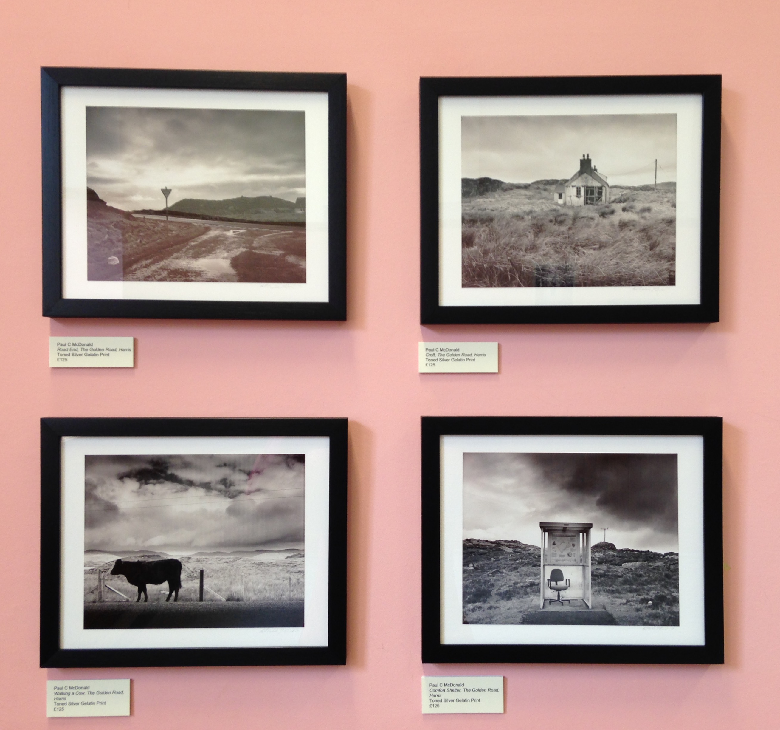 Kinghorn Artists Annual Exhibition - Paul C McDonald - Photography