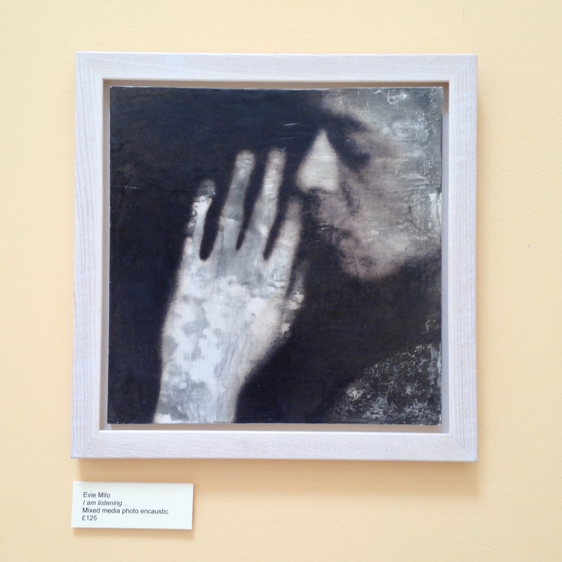 Kinghorn Artists Annual Exhibition - Evie Milo - Photo Encaustic