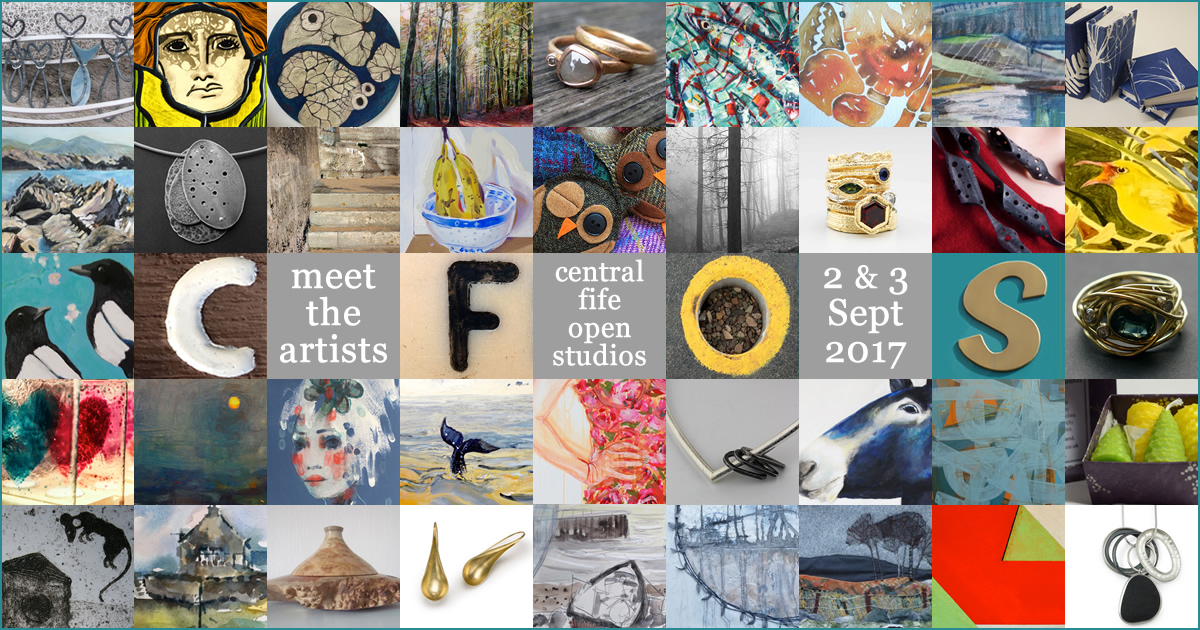 Central Fife Open Studios 2017 - 2nd and 3rd September
