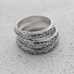 Milomade Jewellery - Echoes Collection - Ripple Ring