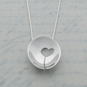 Milomade Jewellery - Enduring Love Collection - One Heart Pendant