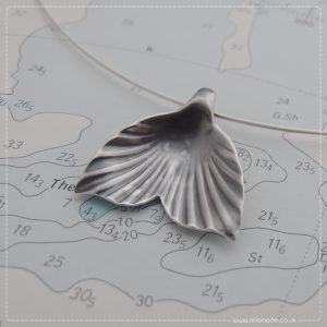 Milomade Jewellery - Tail of the Whale Collection - Whale Tail Necklet