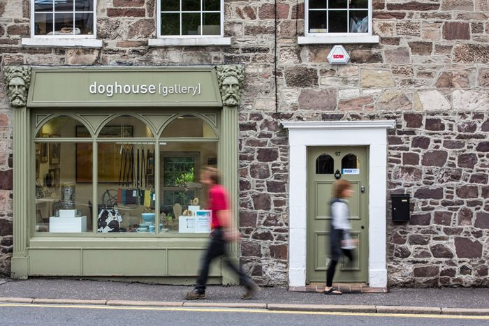 Doghouse Gallery, Comber, Northerns Ireland now stocks Milomade Antique Silverware Spoon Rings