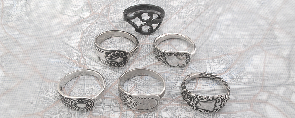 New Spoon Ring Designs from #TheSpoonLadyOfScotland