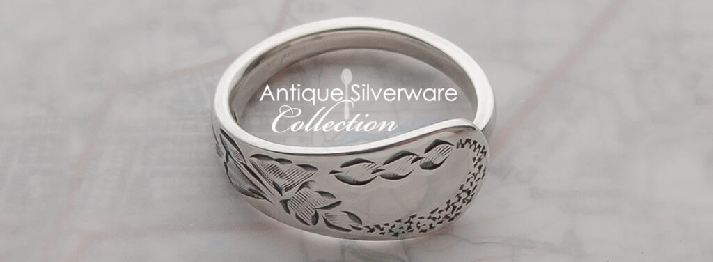 Milomade - Antique Silverware Collection - Wearable heirlooms made from recycled sterling silver teaspoons