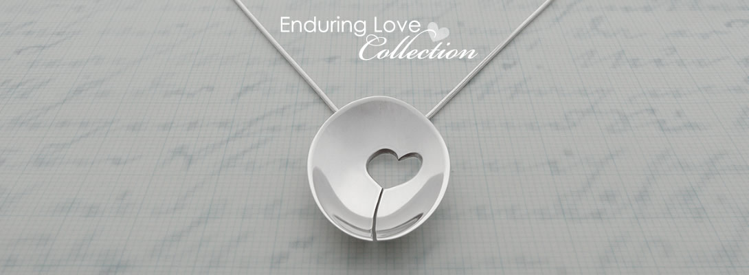 Milomade - Enduring Love Collection - Made from Recycled Sterling Silver Teaspoons