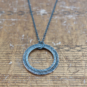 Milomade Jewellery - Little Details Collection - Circle Pendant