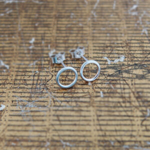 Milomade Jewellery - Little Details Collection - Circle Studs (Plain)