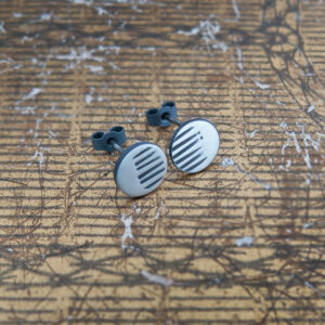 Milomade Jewellery - Little Details Collection - Circle Studs (Solid)