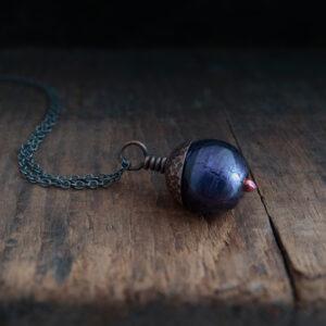 Milomade Jewellery - Woodland Collection - Acorn Pendant