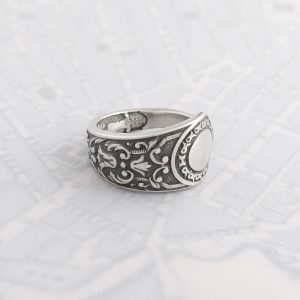 Milomade Antique Silverware Spoon Ring - Made by Evie Milo #TheSpoonLady - Pamuya - Sheffield 1897