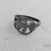 Milomade Antique Silverware Spoon Ring - Made by Evie Milo #TheSpoonLady - Bláthbhreac - London 1944