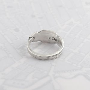 Milomade Antique Silverware Spoon Ring - Made by Evie Milo #TheSpoonLady - Saighead - Sheffield 1960