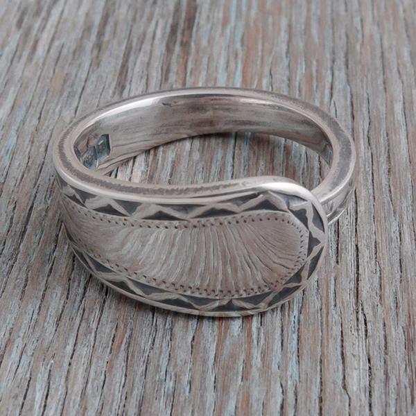 Antique Silverware Spoon Ring - Belanus