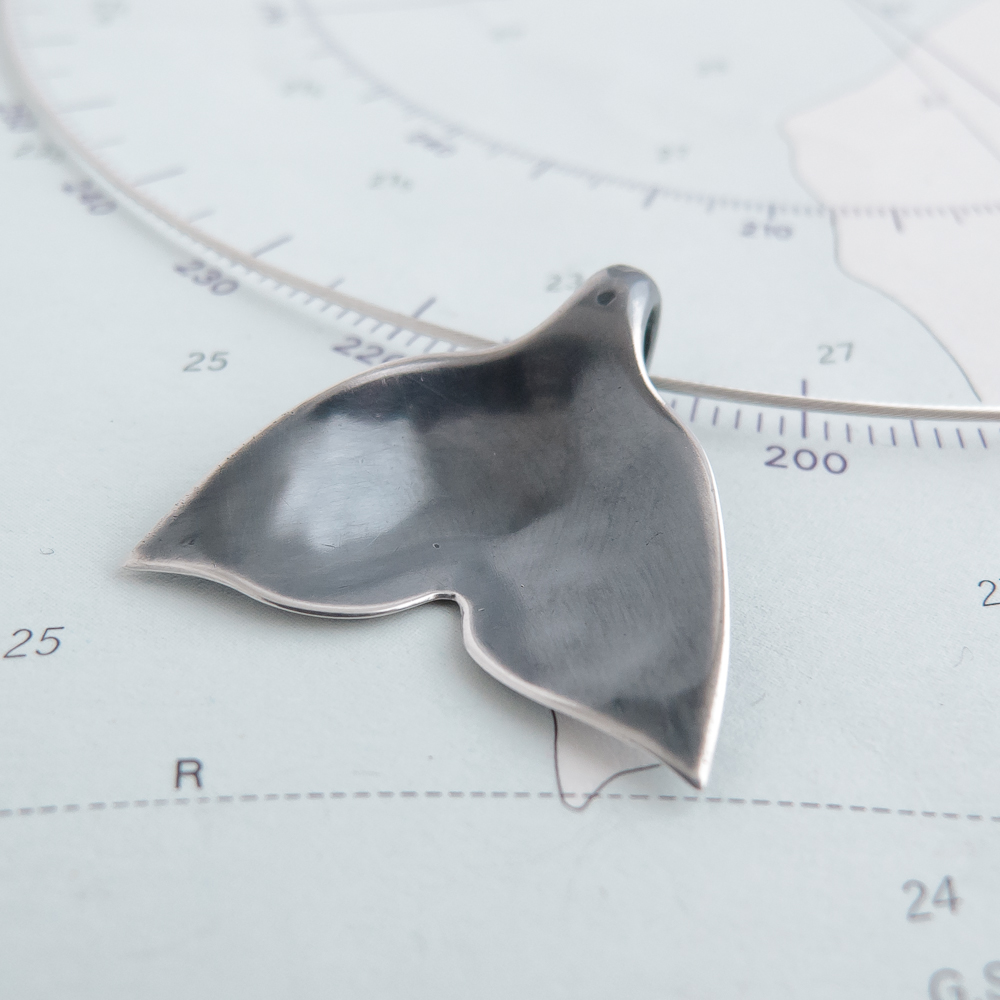 Tail of the Whale Collection - Unique Whale Tail Necklet