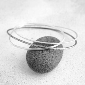 Milomade Echoes Collection - Rockpool Bangle