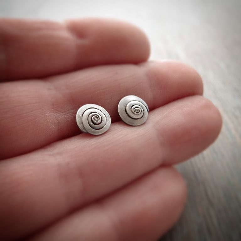 New Periwinkle Studs from Milomade