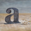 Handcrafted Copper Type - Letter A