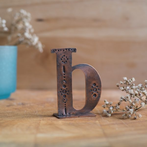 Copper Type - Letter B