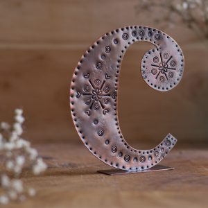Copper Type - Letter C