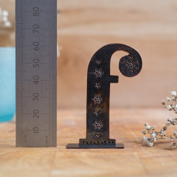 Copper Type - Letter F