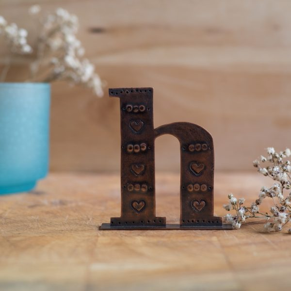 Copper Type - Letter H